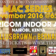 Making a Champ – 5 November 2016 – Nairobi, Kenya